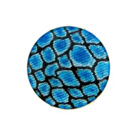 Zilveren Munt met Blauwe Emaille van MY iMenso