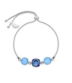 Armband van Spark Jewelry met Denim Blue Swarovski Kristallen
