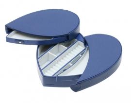 Korenblauwe Hartvormige Sieradendoos / DAVIDTS