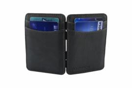 Grijze Magic Wallet RFID Portemonnee van Hunterson