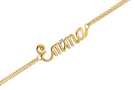Geelgouden Naam Armband van Nomelli – 5 Tekens