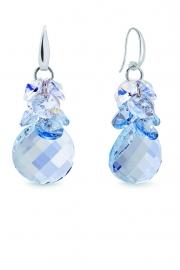 Luna Dives Swarovski Oorbellen van Spark Jewelry