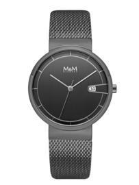 M&M Horloge met Zwarte Coating voor Dames