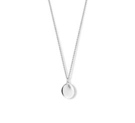 Ovaal Zilveren Dames Collier 40 - 42 - 44 cm