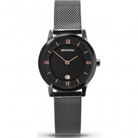Sekonda Zwarte Dames Horloge SEK.2244