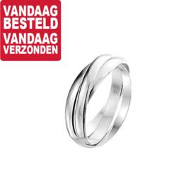 Zilveren Ring 3-in-1 / Maat 17