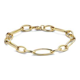 Excellent Jewelry Geelgouden Schakelarmband