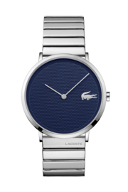 Lacoste Moon Heren Horloge met Edelstalen Schakelband