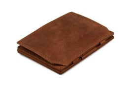 Javabruine Magic Coin Wallet Portemonnee van Essenziale Garzini