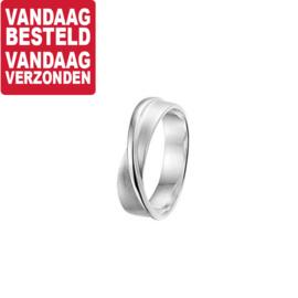 Twist Ring van Zilver / Maat 17,5