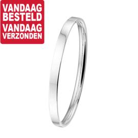 Buis Dames Bangle armband van Zilver / Diameter 60mm