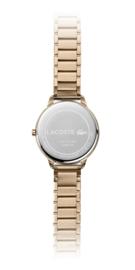 Lacoste roségoudkleurig Lexi Dames Horloge met Schakelband