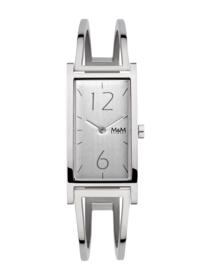 M&M Zilverkleurig Horloge voor Dames