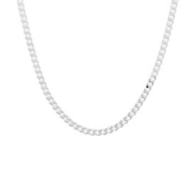 Zilveren Collier Geslepen Gourmet 2,8 mm | Lengte Ketting 50 cm