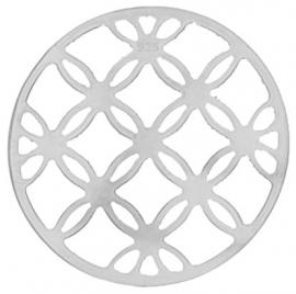 Zilveren cirkels / bloemen munt / MY iMenso 33-0956
