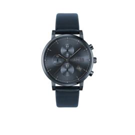 Hugo Boss Horloge Integrity Donkerblauw Horloge met Blauwe Band van Boss