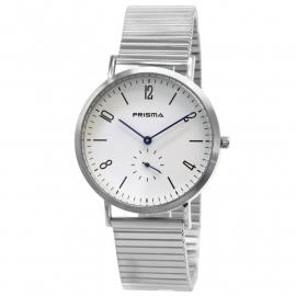 Prisma Horloge 33B711003 Stalen Rekband