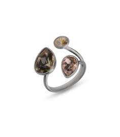 Swarovski Ring van Spark Jewelry met Rosé Swarovski Kristallen