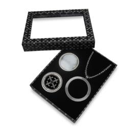 Stijlvolle Zilverkleurige LOCKits Gift Set