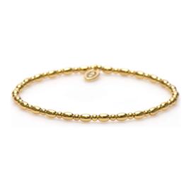 Goudkleurige Balistyle Armband van Karma
