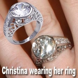 Vintage Ring - Gezien bij Christina Aguilera!