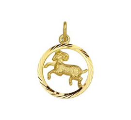 Sterrenbeeld Ram Gouden Hanger