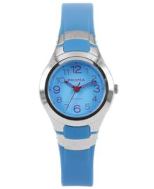 Elegant Kids Horloge van Edelstaal met Blauwe Horlogeband