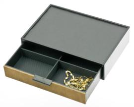 Bruine Glamour Box met Ladevakken van Davidts
