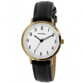 Prisma Horloge P.1498 Dames Edelstaal Slimline