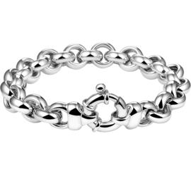 Zilveren Jasseron Armband voor Dames