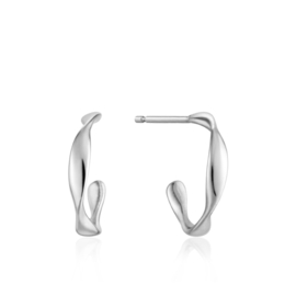 Twist Mini Hoop Earrings van Ania Haie