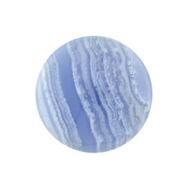 Blauwe Agaat Edelsteen Munt van MY iMenso