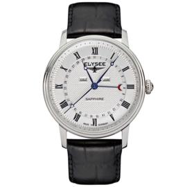 Monumentum Calendar Zilverkleurig Heren Horloge