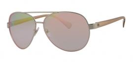 Aviator Bronskleurige Zonnebril voor Dames