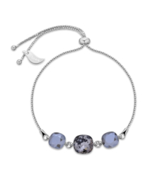 Armband van Spark Jewelry met Silver Night Swarovski Kristallen