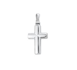 Kruisvormige Urn Hanger van Zilver - Memorie Sieraad