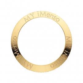 Quartz MY iMenso Gouden Bezel + MY iMenso Logo