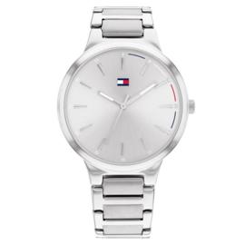 Tommy Hilfiger Bella Zilverkleurig Dames Horloge