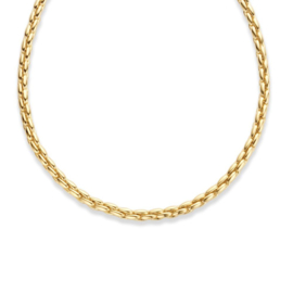 Excellent Jewelry Geelgouden 4,7mm Collier