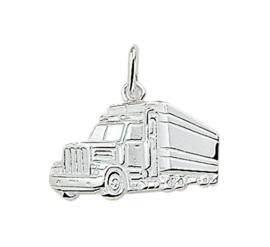 Amerikaanse Truck Bedel van Gepolijst Zilver 10.03257