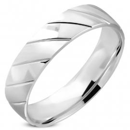 Stalen Patroon Ring (Graveren mogelijk) SKU91338