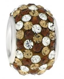 Bruintinten glaskristallen Stones 26/192-TB