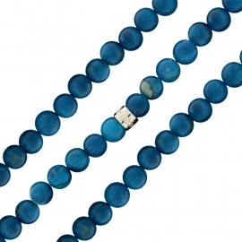 MY iMenso Blauwe Facet-geslepen Kralen Bracelet 27-0532-205