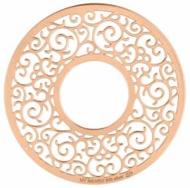 Rosé Ornament Fusion Munt 24-1195 / 33-1195