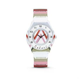 Pastelkleurig Horloge voor Kids van Colori Junior