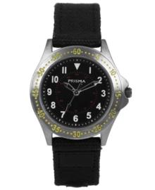 Bolk Jongens Horloge met Zwarte Canvas Horlogeband