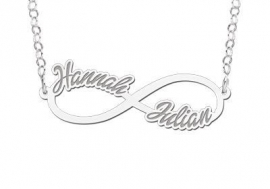 Names4ever Twee Namen Infinity Ketting