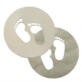Baby voetjes munt MY iMenso 33-0723