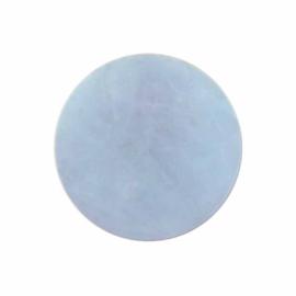 Pastel Milky Blue Edelsteen 33mm Insignia van MY iMenso