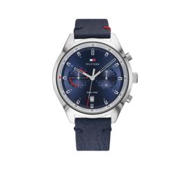Zilverkleurig Bennett Heren Horloge van Tommy Hilfiger